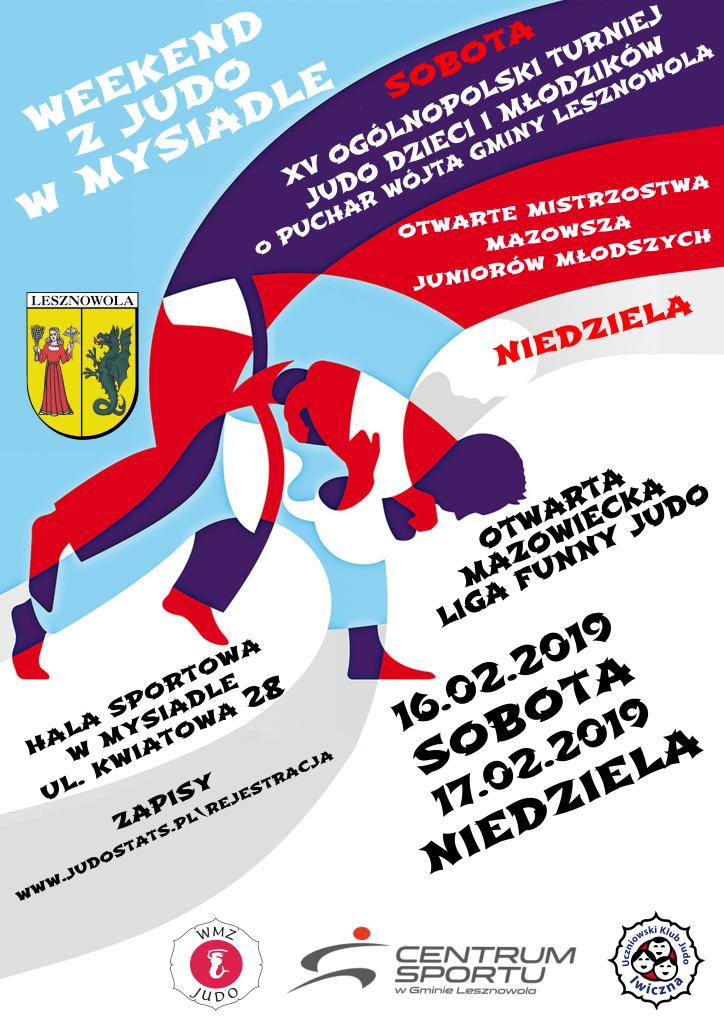 Judo plakat_2- mysiadło